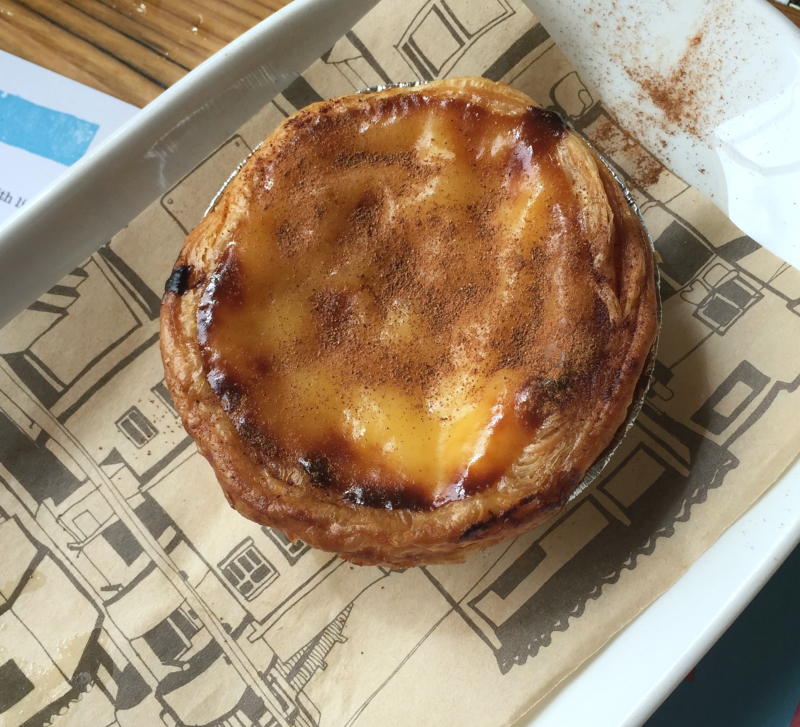 Pastel de Nata London Brunch