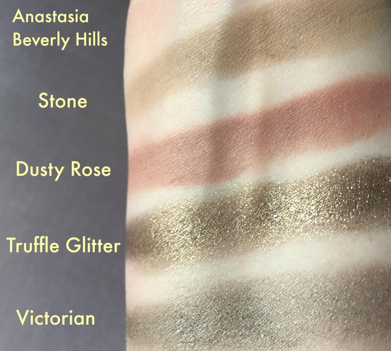 Anastasia Beverly Hills Stone Dusty Rose Truffle Glitter Victorian