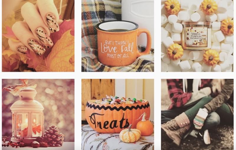 Autumn Candle Mug